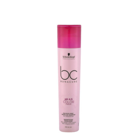Schwarzkopf BC Bonacure pH 4.5 Color Freeze Sulfate Free Micellar Shampoo 250ml