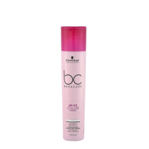 Schwarzkopf BC Bonacure pH 4.5 Color freeze Silver Micellar Shampoo 250ml