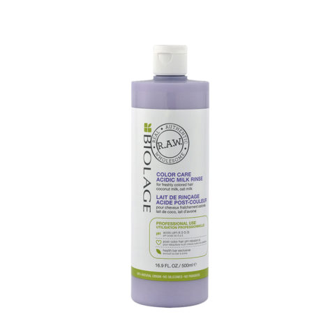 Biolage RAW Color Care Conditioner 1000ml - leche post-color