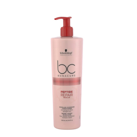 Schwarzkopf BC Bonacure Peptide Repair Rescue Cleansing Conditioner 500ml - champù y bàlsamo