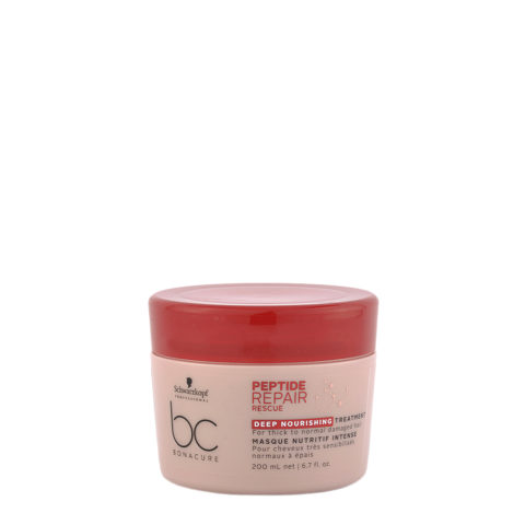 Schwarzkopf BC Bonacure Peptide Repair Rescue Deep Nourishing Treatment 200ml