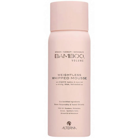 Alterna Bamboo Volume Weightless whipped mousse 170g - espuma volumizante