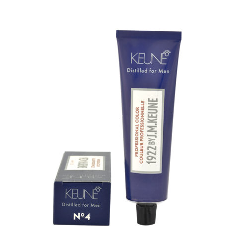 N 4 Keune 1922 Color Medium brown 60ml - castano medio
