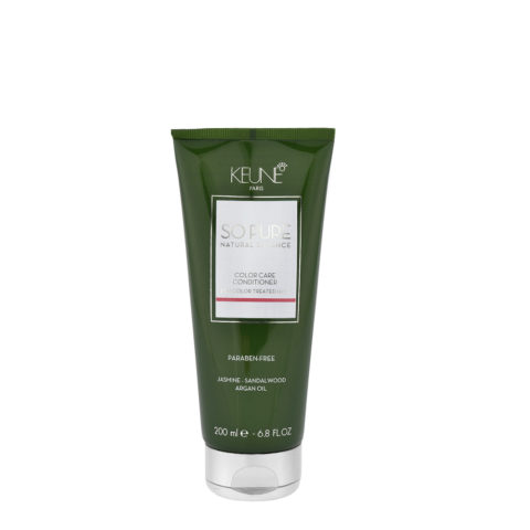 Keune So Pure Color Care Conditioner 200ml - bálsamo para cabello coloreado y tratado