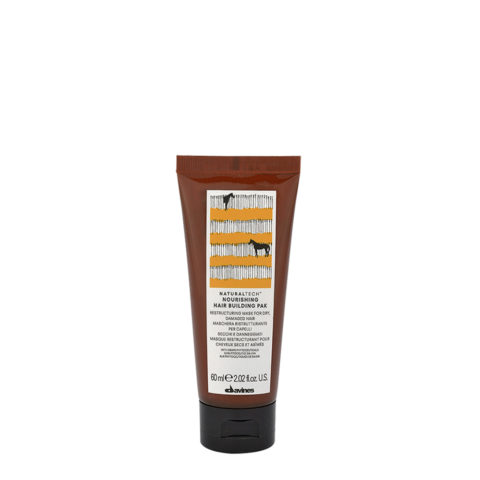 Davines Nourishing Hair Building Pak Hair Mask 60ml - Mascarilla reestructurante