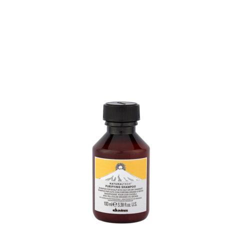 Davines Naturaltech Purifying Shampoo 100ml - Champú purificante anticaspa