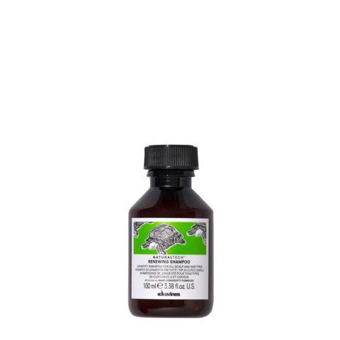 Davines Naturaltech Renewing Shampoo 100ml - champù de longevidad todos los cabellos