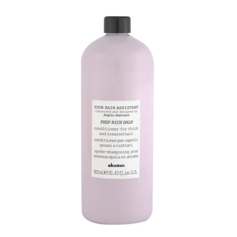 Davines YHA Prep Rich balm 900ml - Acondicionador hidratante