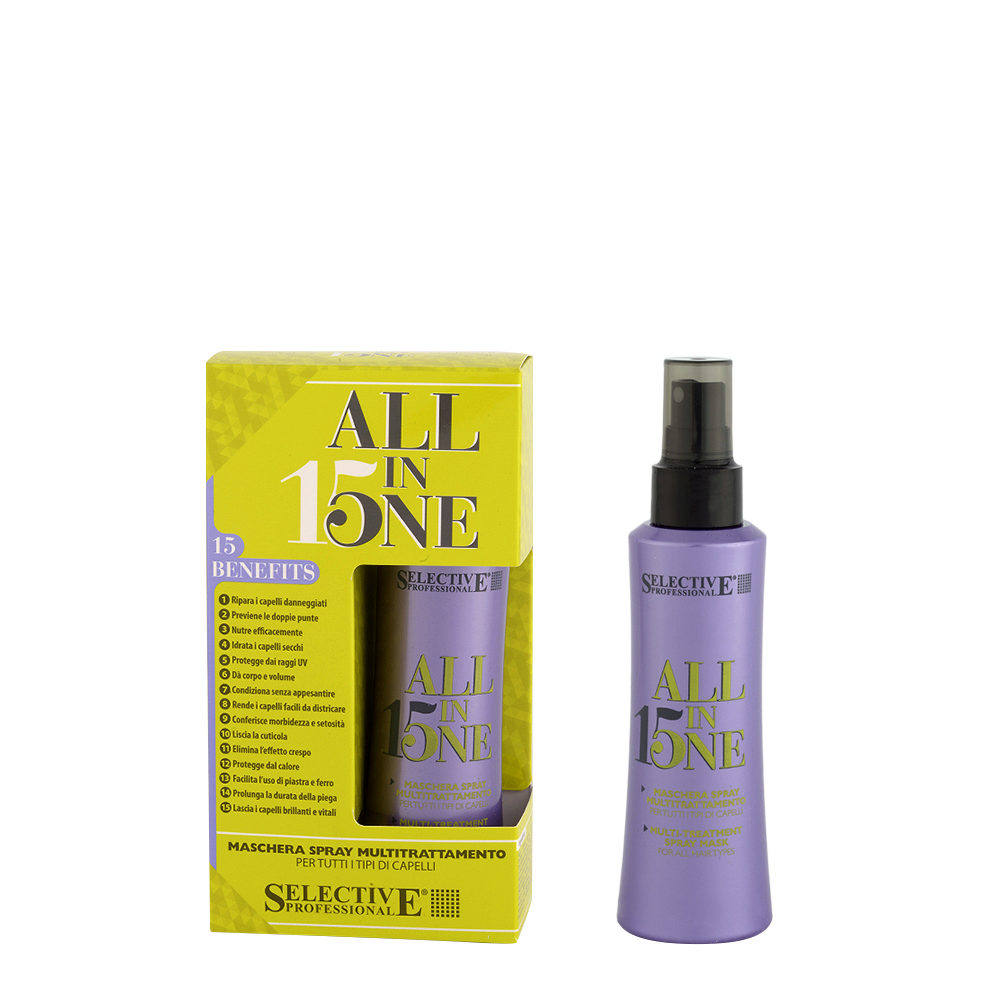 Selective All in one 150ml - Multitratamiento Capilar en Spray