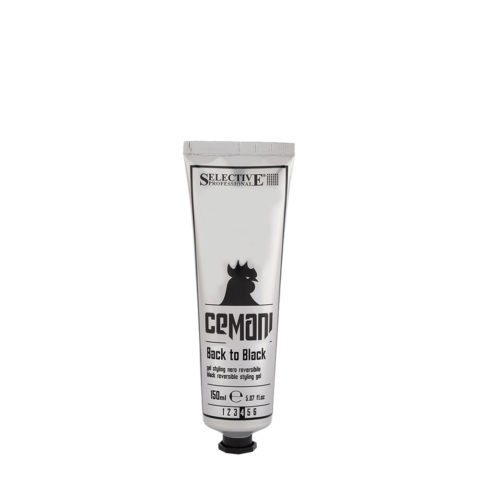 Selective Cemani Back to black 150ml - gel negro reversible