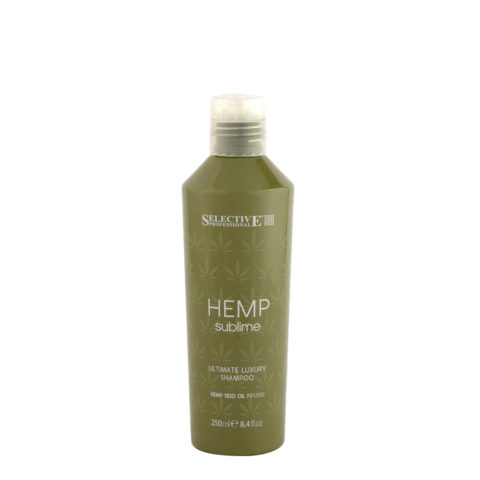 Selective Hemp sublime Ultimate luxury Shampoo 250ml - con aceite de semilla de cáñamo