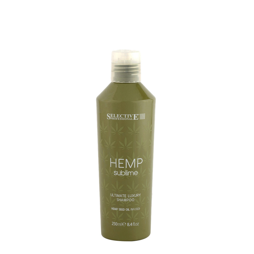 Selective Hemp sublime Ultimate luxury Champú 250ml - con Aceite de Semilla de Canabis