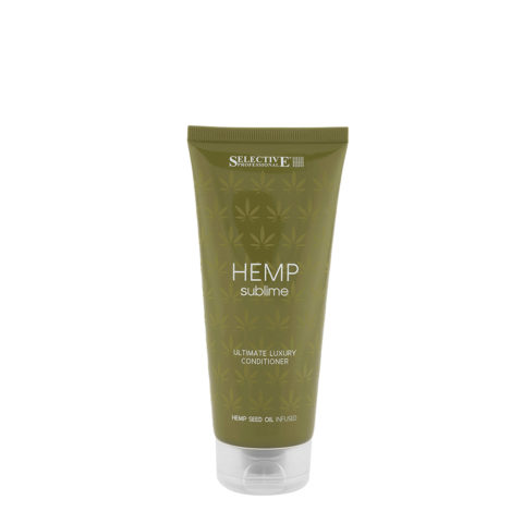 Selective Hemp sublime Ultimate luxury Conditioner 200ml - bàlsamo aceite de semilla de cáñamo