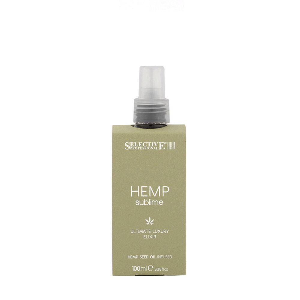 Selective Hemp sublime Ultimate luxury Elixir 100ml -  Elixir con Aceite de Semilla de Canabis