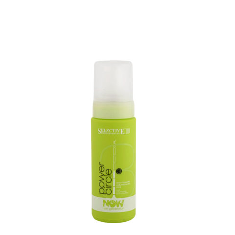 Selective Now Curl Power Circle 150ml - espuma voluminizadora rizada