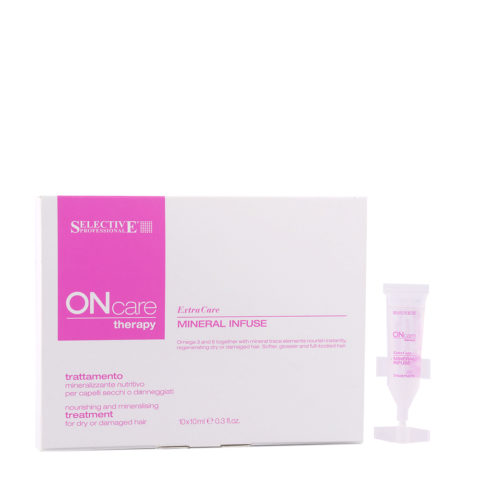 Selective On care Extra Care Mineral Infuse Treatment 10x10ml - tratamiento mineralización