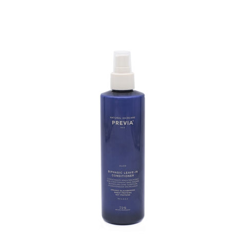 Previa Silver Blonde Biphasic Leave in Conditioner 260ml - acondicionador antiamarillo sin enjuague