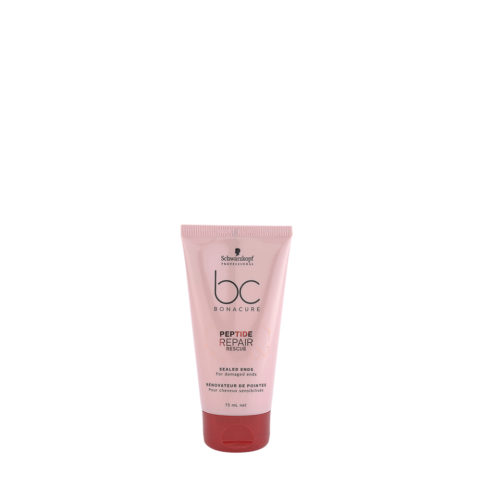 Schwarzkopf BC Bonacure Peptide Repair Rescue Sealed Ends 75ml - Sérum para las puntas