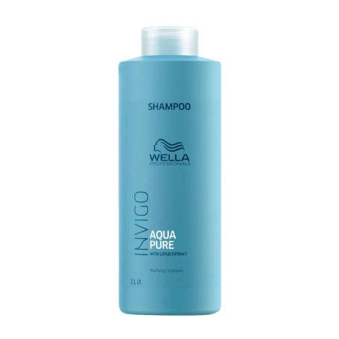 Wella Invigo Balance Aqua Pure Purifying Shampoo 1000ml - champù purificante