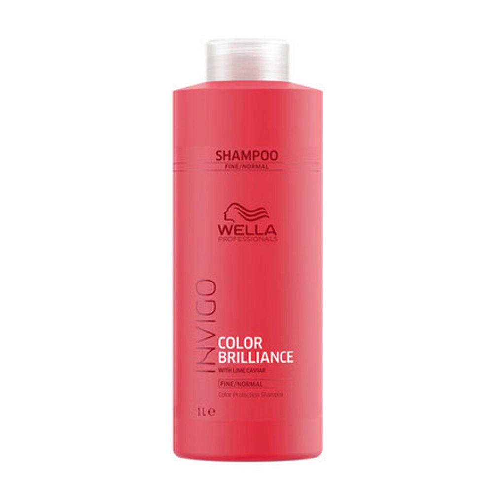 Wella Invigo Color Brilliance Shampoo fine/normal hair 1000ml