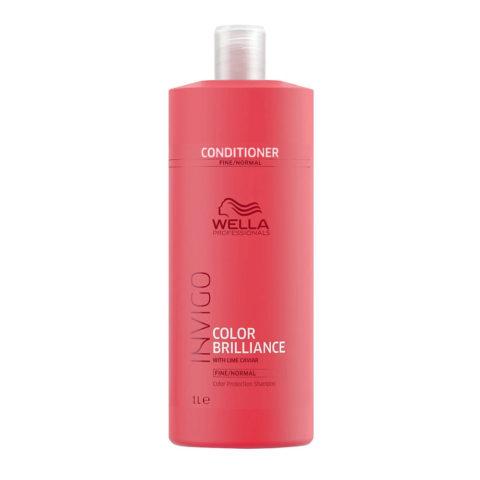 Wella Invigo Color Brilliance Vibrant Color Conditioner 1000ml - acondicionador cabello fino/normal