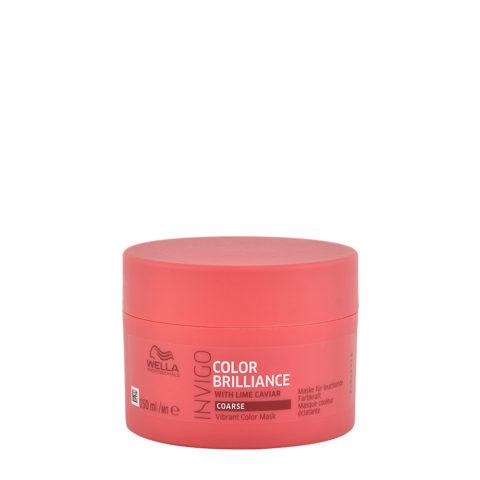 Wella Invigo Color Brilliance Mask Coarse hair 150ml - mascarilla pelo largo