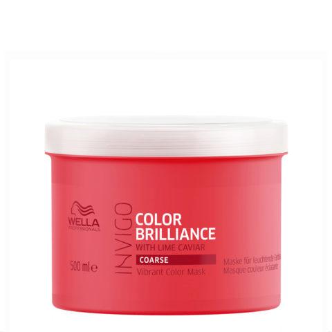 Wella Invigo Color Brilliance Vibrant Color Mask 500ml - cabello grueso