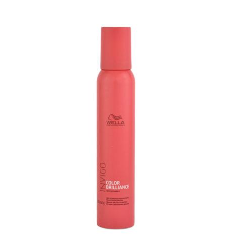 Wella Invigo Color Brilliance Vitamin Conditioning Mousse 150ml - espuma con vitamina E