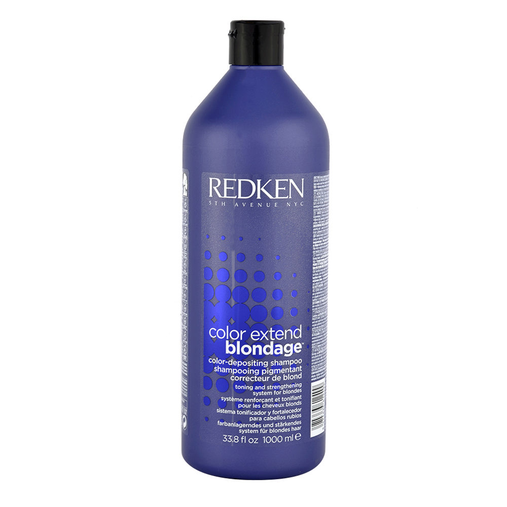 Redken Color extend Blondage Shampoo 1000ml - champú cabello rubio
