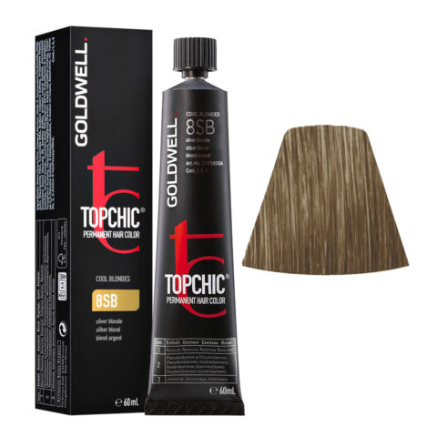 8SB Rubio irisé Goldwell Topchic Cool blondes tb 60ml