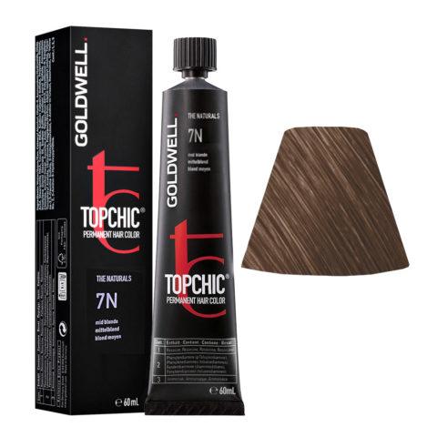 7N Rubio medio Goldwell Topchic Naturals tb 60ml