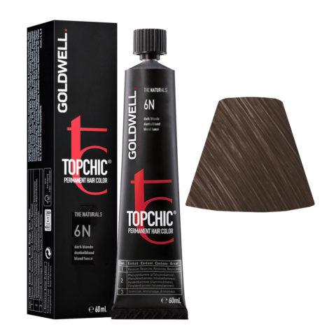6N Rubio oscuro Goldwell Topchic Naturals tb 60ml