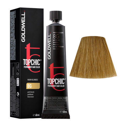 8G Rubio dorado Goldwell Topchic Warm blondes tb 60ml