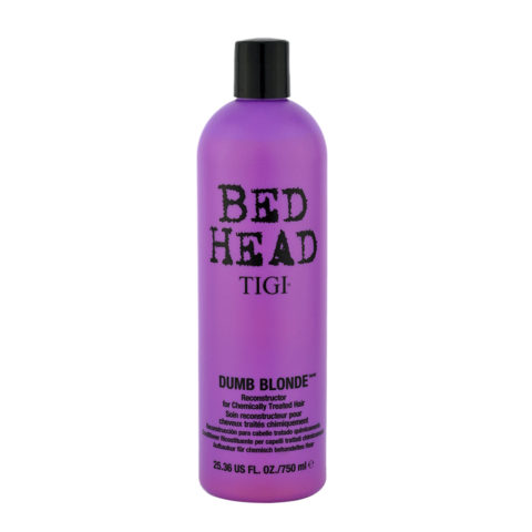 Tigi Bed Head Dumb Blonde Reconstructor 750ml - Acondicionador Cabello Tratado Rubio