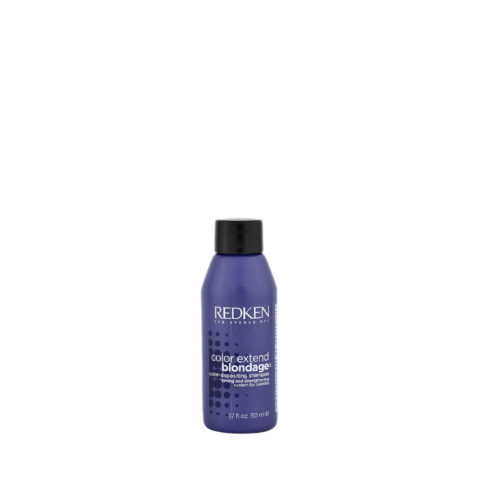 Redken Color extend Blondage Shampoo 50ml - champú cabello rubio