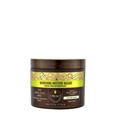 Macadamia Nourishing moisture Mascarilla 236ml - Mascarilla hidratante nutritiva para cabello medio a grueso