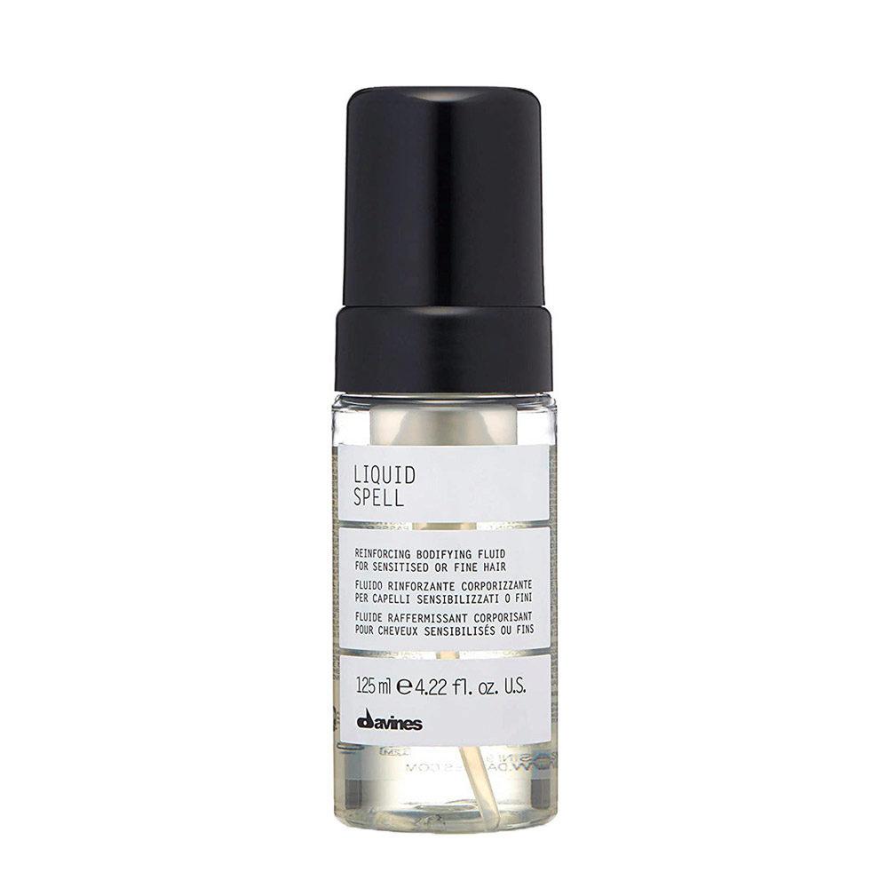 Davines Liquid spell 125ml - Líquido sensibilizante o fortalecedor del cabello fino.