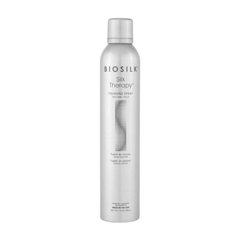 Biosilk Silk Therapy Styling Finishing Spray Natural Hold 284gr - laca mediana