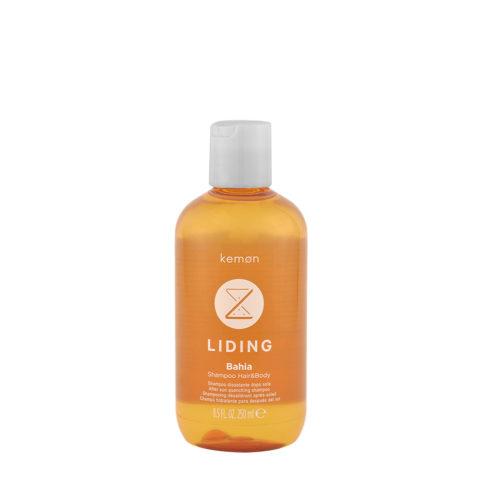Kemon Liding Bahia Shampoo Hair & Body 250ml - champù hidratante despues del sol