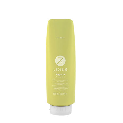 Kemon Liding Energy Treatment 200ml - tratamiento energizante piel y cabello