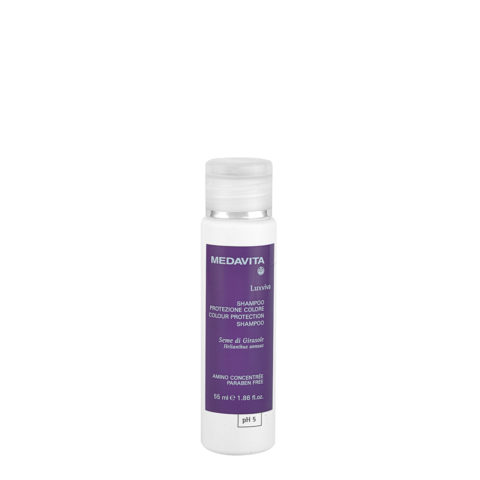 Medavita Lenghts Luxviva Champú Protección Color pH 5  55ml