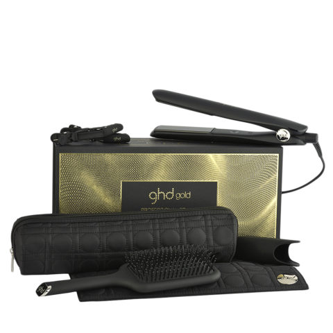 GHD Gold Professional Styler Smooth Styling Gift Set - plancha kit regalo