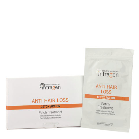 Intragen Anti Hair Loss Patch Treatment 30patches - parches anti-caida