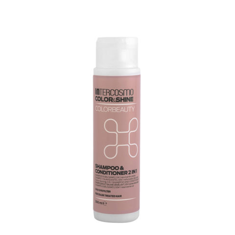 Intercosmo Color & Shine Color Beauty Shampoo & Conditioner 2 in 1 300ml