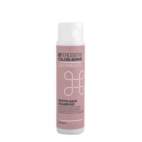 Intercosmo Color & Shine Color Beauty White Hair Shampoo 300ml - champù antiamarillo