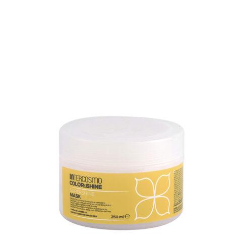 Intercosmo Color & Shine Supershine Mask 250ml - mascarilla nutritiva iluminante con semillas de lino
