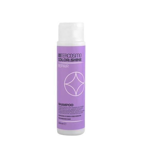 Intercosmo Color & Shine Repair Shampoo 300ml - champú protector reparador con queratina