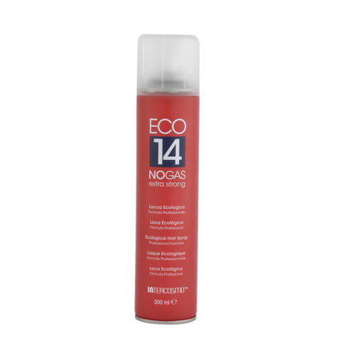 Intercosmo Styling Eco 14 No Gas Extra Strong 300ml - laca ecológica extraforte