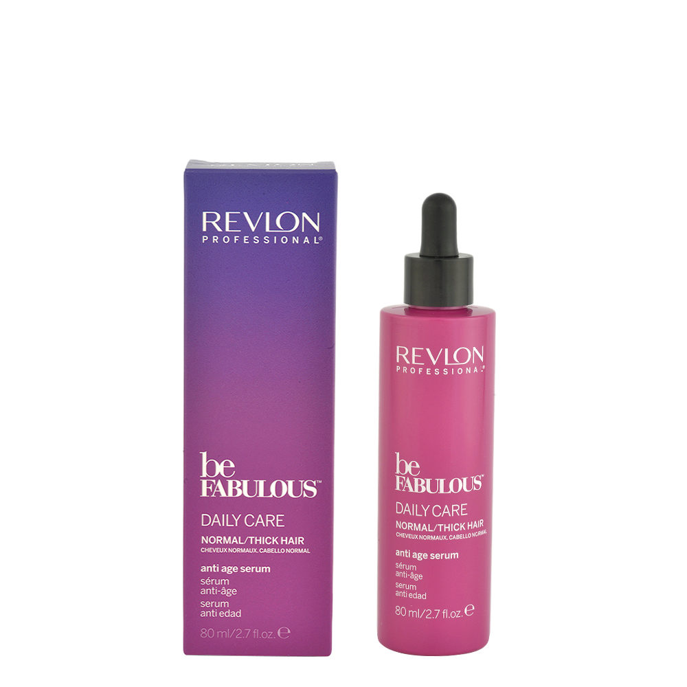 Revlon Be Fabulous Daily care Normal / thick hair Anti age serum 80ml - suero antienvejecimiento cabello grueso