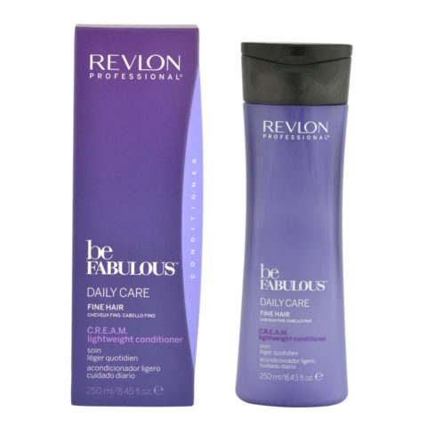 Revlon Be Fabulous Daily care Fine hair Cream Lightweight conditioner 250ml - bálsamo para el cabello fino